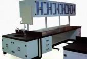 鋼骨吊PP櫃中央實驗桌